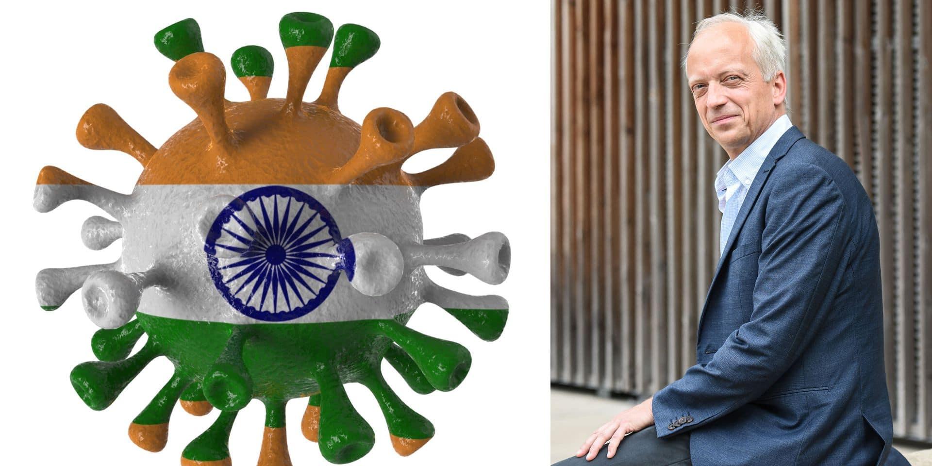 Pour Yves Coppieters, certaines mesures doivent être renforcées pour éviter la propagation des variants indiens et brésiliens