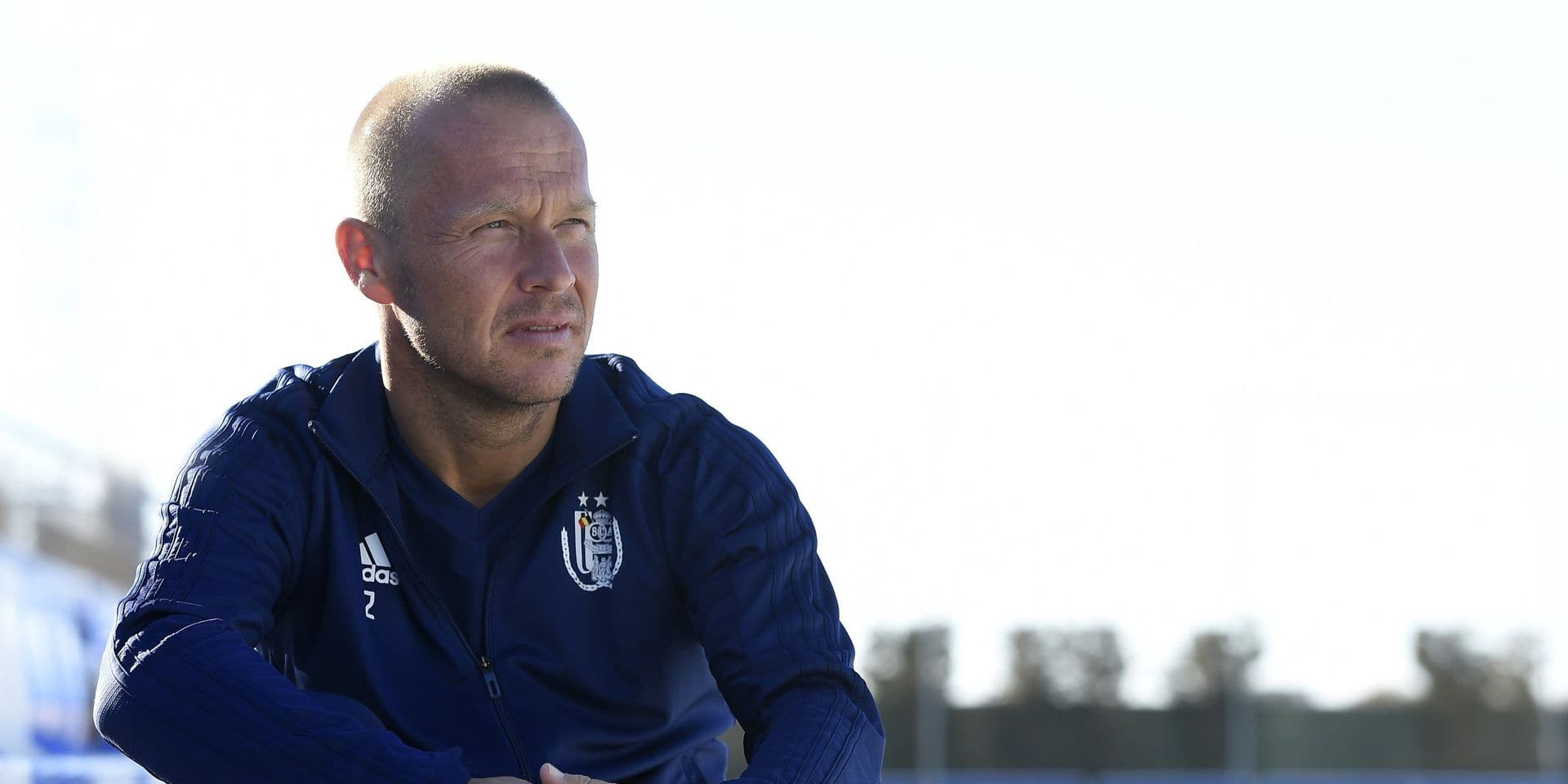 MURCIA, SPAIN - JANUARY 14 : Par Zetterberg assistant coach of Anderlecht pictured before a training session in San Pedro del Pinatar at the midseason training winter stage camp on January 14, 2019 in Murcia, Spain, 14/01/2019 ( Photo by Vincent Kalut / Photonews
