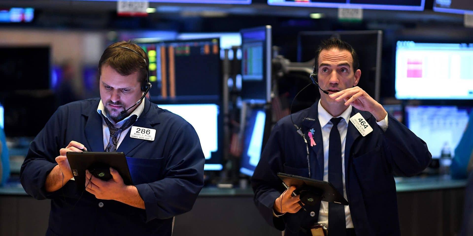 Wall Street se replie au lendemain d'une forte hausse