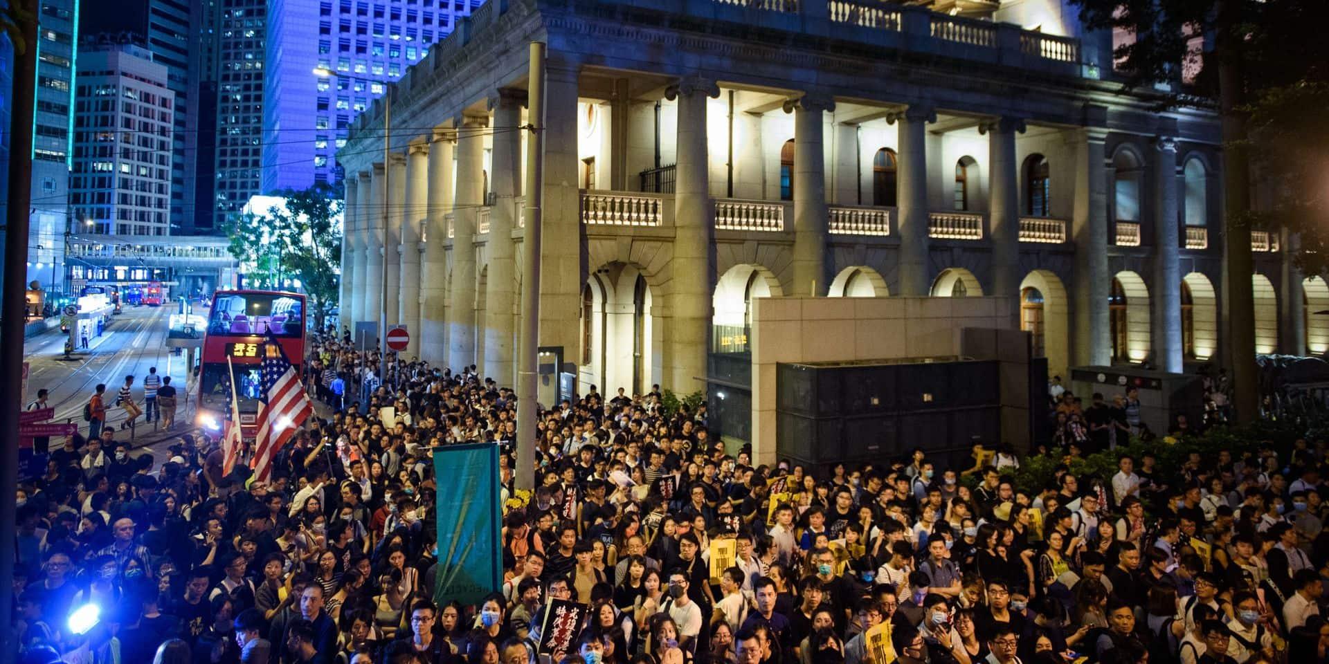 La police de Hong Kong n'a pas besoin de Pékin