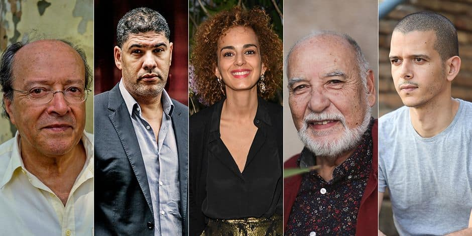 Mohammed Berrada, Rachid Benzine, Leïla Slimani, Tahar Ben Jelloun, Abdellah Taïa