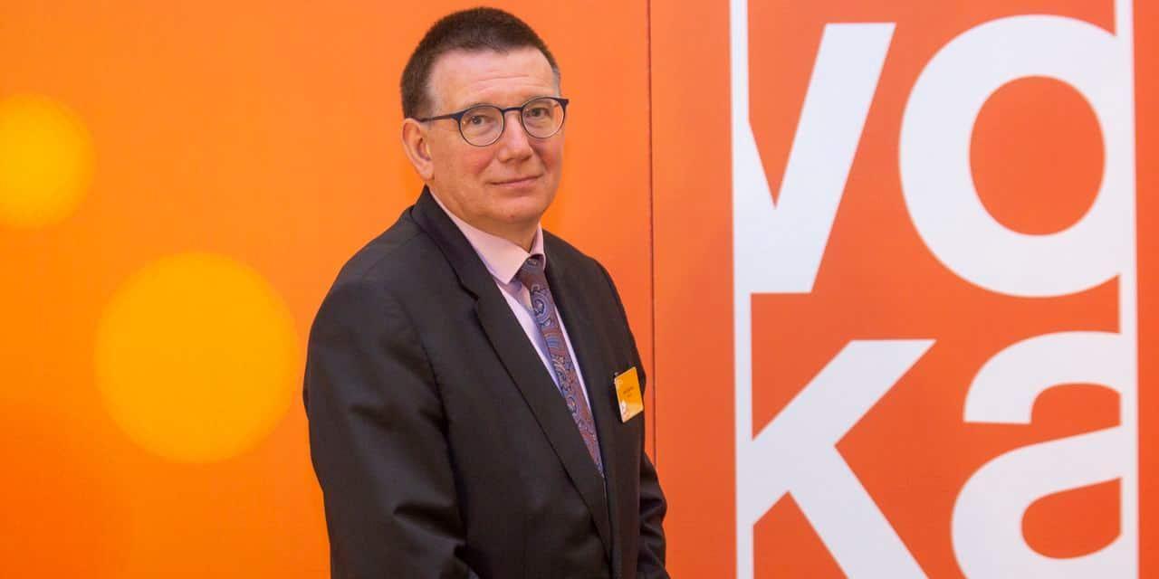 """Hans Maertens (Voka): """"Nous nous dirigeons vers une perte économique pouvant atteindre 16 milliards d'euros"""""""