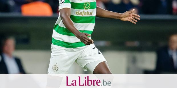Glasgow's Dedryck Boyata in action during the UEFA Champions League soccer match between FC Bayern Munich and Celtic Glasgow at the Allianz Arena in Munich, Germany, 18 October 2017. - NO WIRE SERVICE - Photo: Thomas Eisenhuth/dpa-Zentralbild/ZB