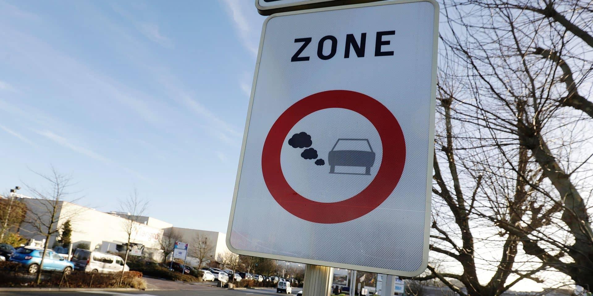 Qui est concerné par l'interdiction de circuler sur le territoire bruxellois ?