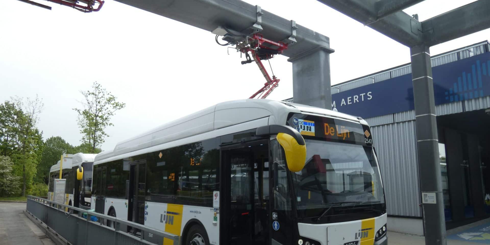 Une commande de 350 bus électriques pour De Lijn