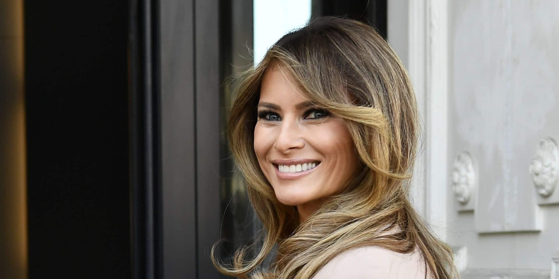 Quand Melania Trump pique un look (réussi) à Meghan Markle au Japon