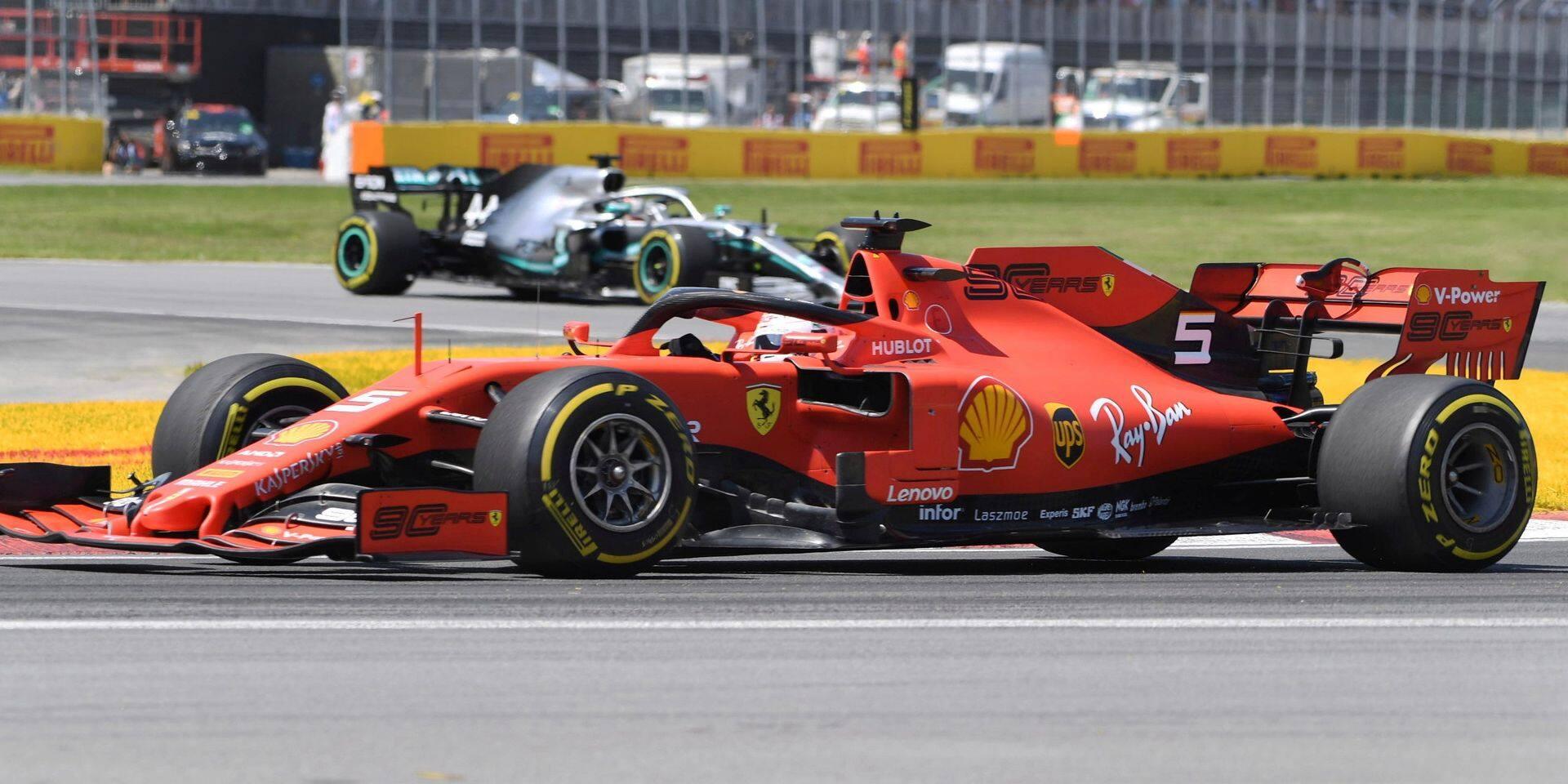 GP Canada: Hamilton vainqueur grâce à une pénalité contre Vettel