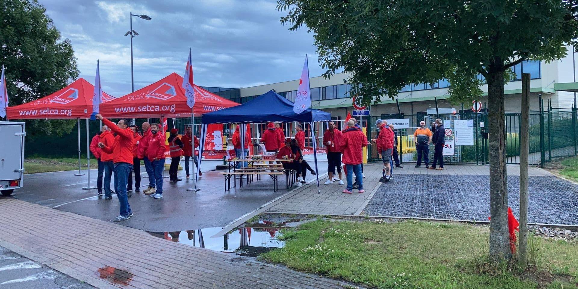 GSK: le syndicat socialiste bloque le site d'expédition des vaccins de Gembloux
