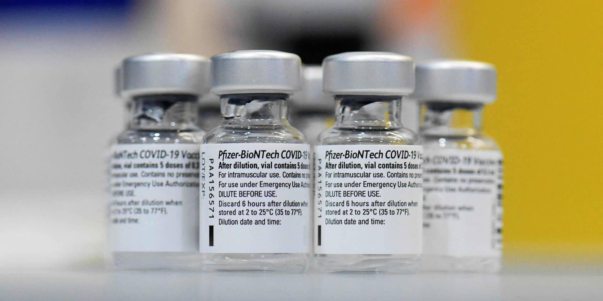 Un accord européen a été trouvé avec BioNTech-Pfizer pour avancer la livraison de 10 millions de doses de vaccin