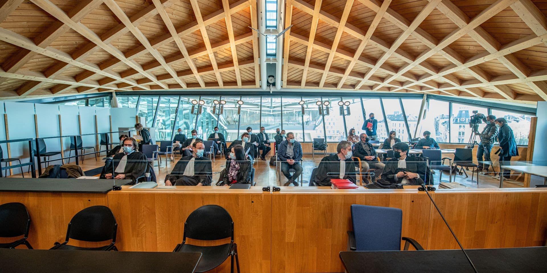 Session au tribunal d'Anvers ce jeudi 22 avril.