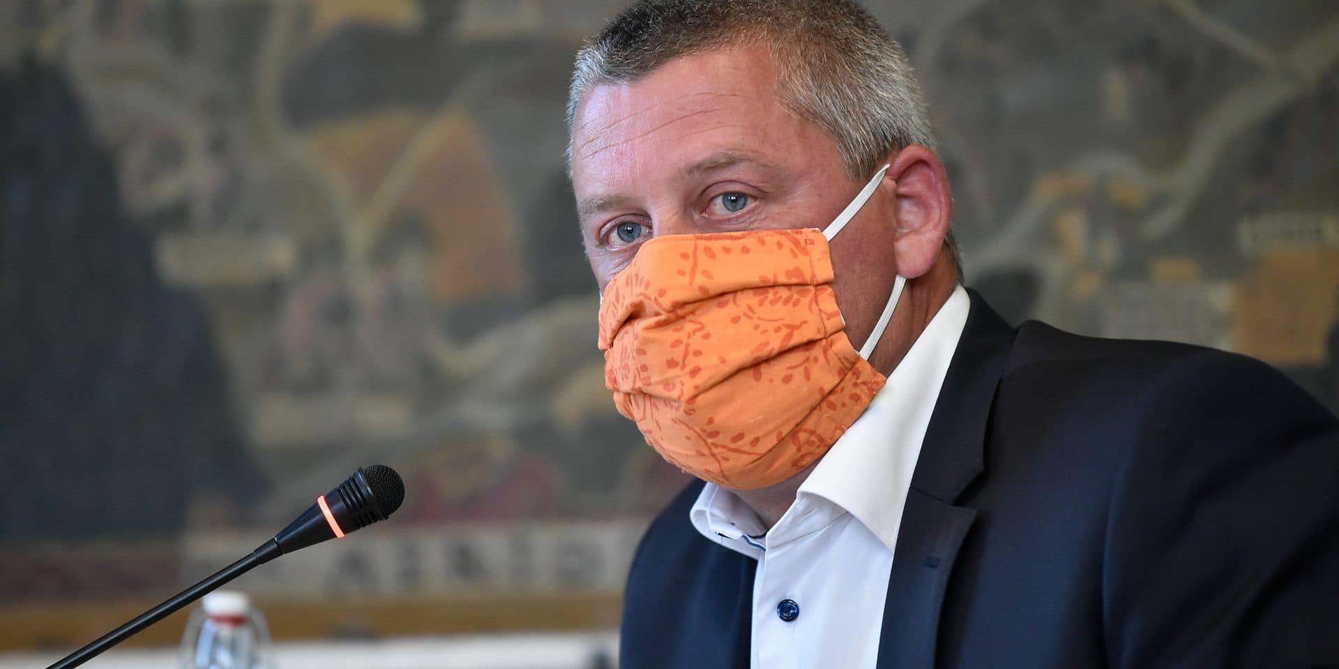 Dimitri Fourny a officiellement quitté le conseil communal de Neufchâteau et la politique