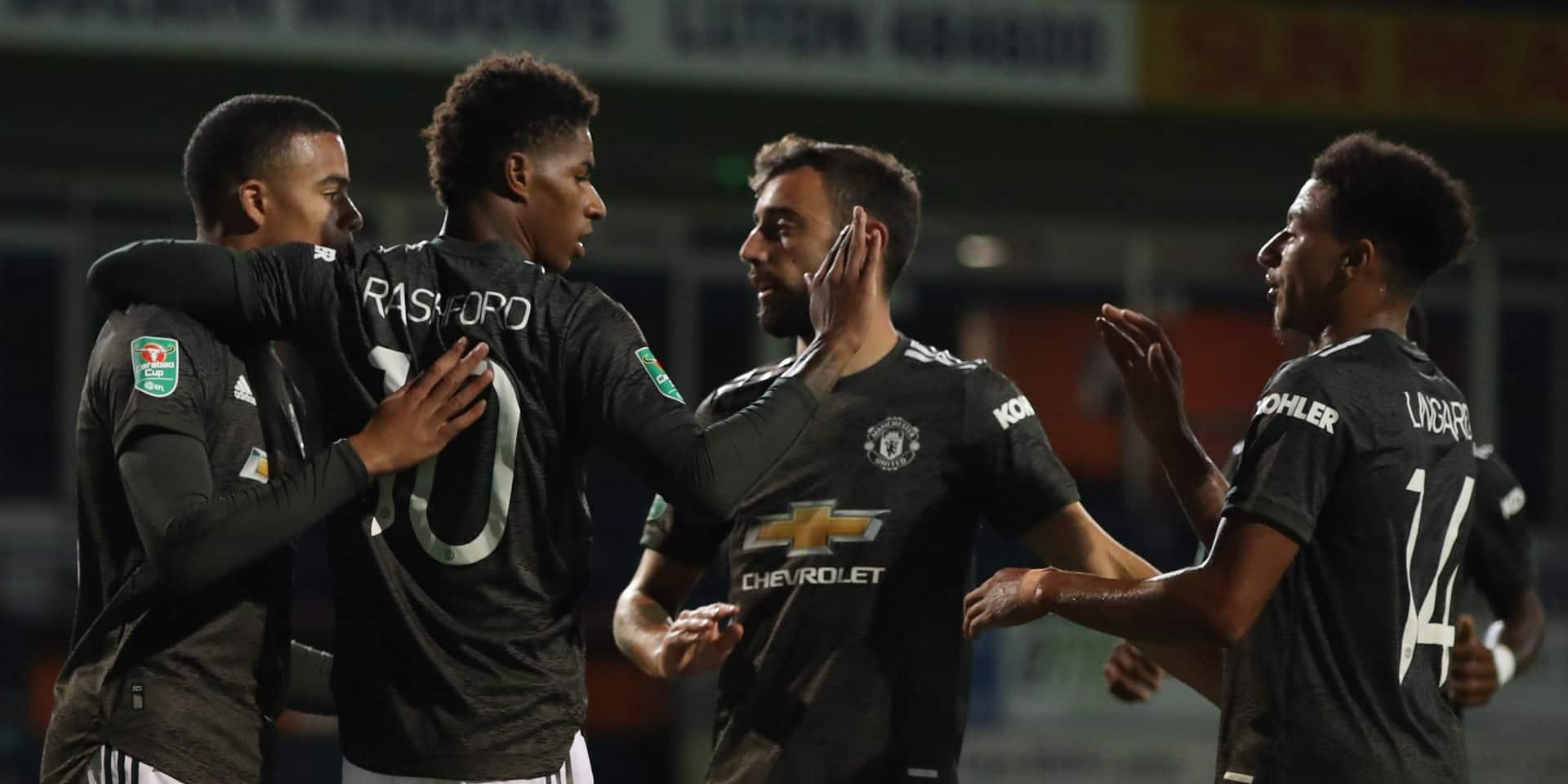 Manchester United atteint la huitième de finale de la coupe