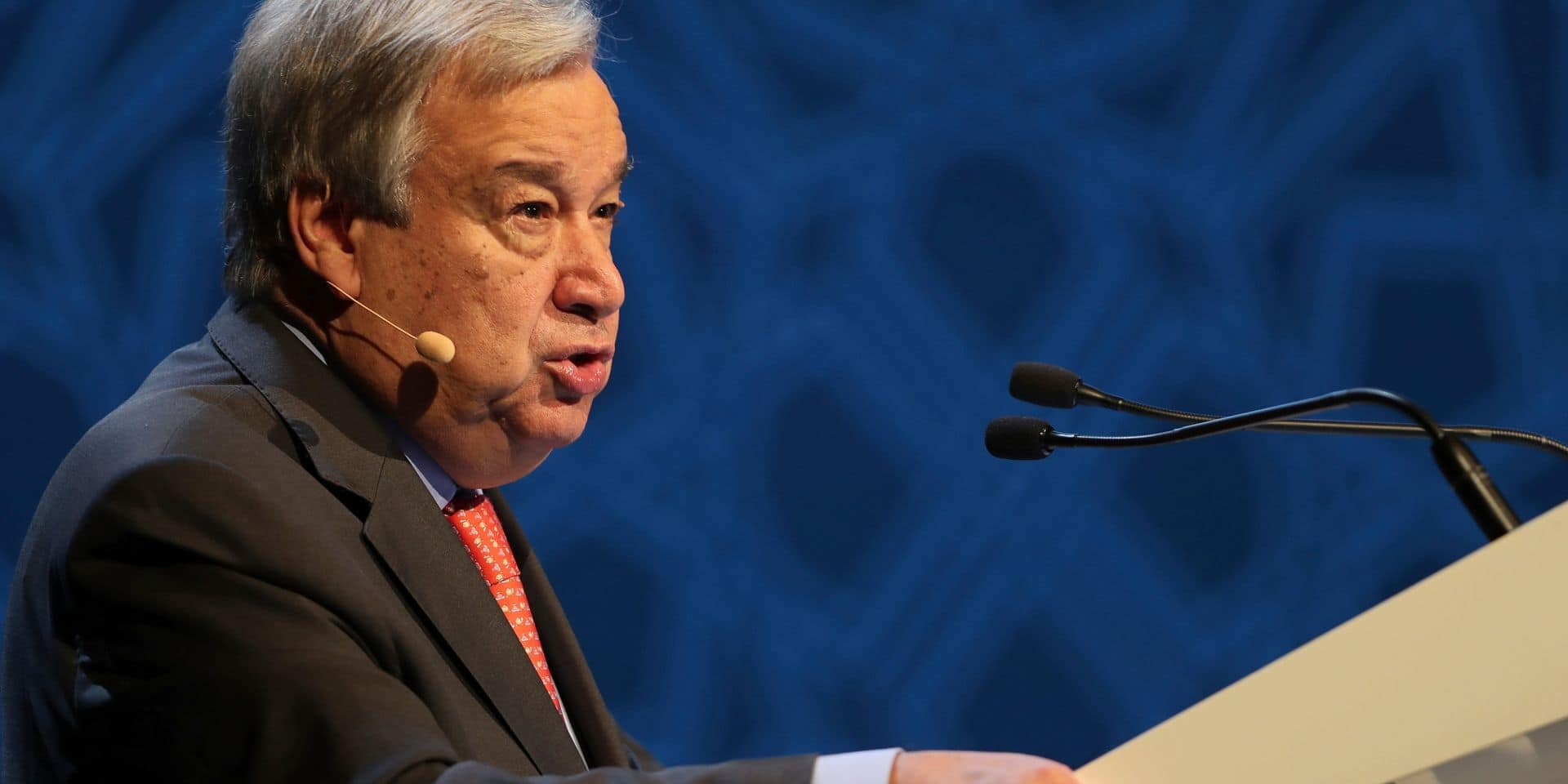"""Le chef de l'ONU tire la sonnette d'alarme: """"Le dérèglement climatique progresse plus vite que prévu"""""""