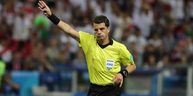Voici l'arbitre de la demi-finale France-Belgique - La Libre