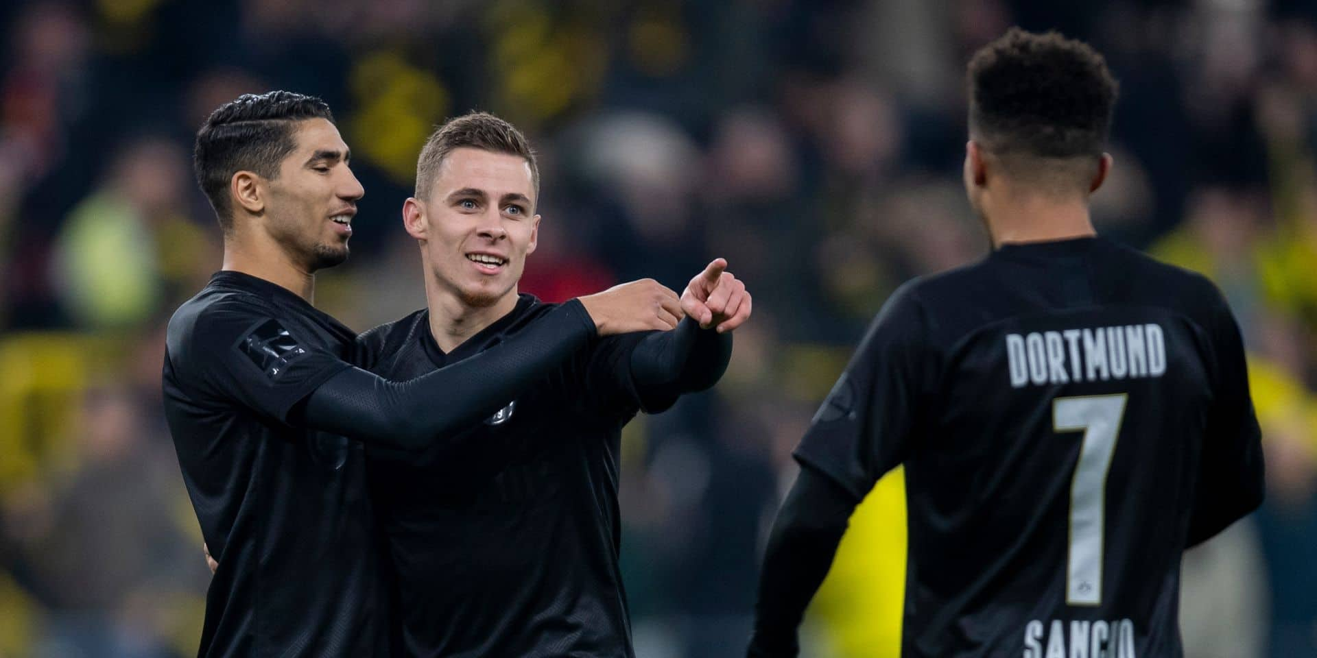 Thorgan Hazard, l'avant régulier du Borussia Dortmund