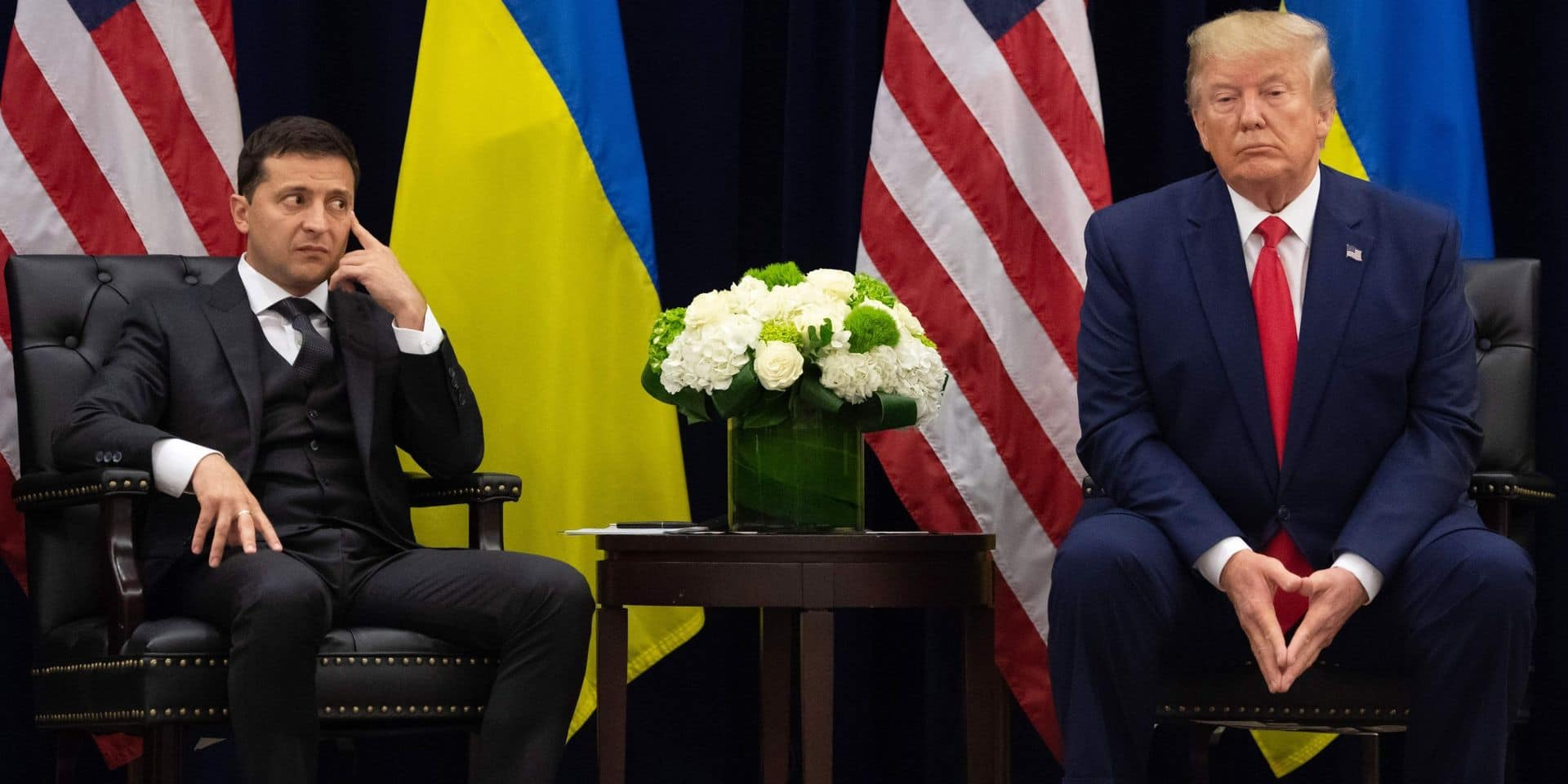 Destitution de Trump: le président ukrainien donne à nouveau sa version des faits