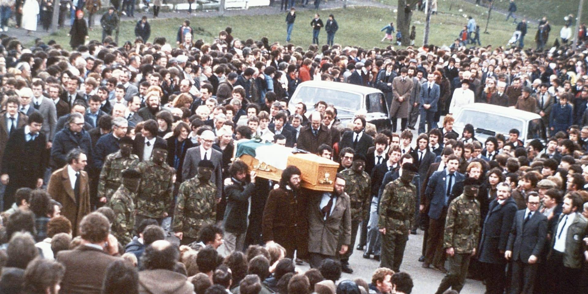 Il y a 40 ans, Bobby Sands mourait de faim en prison à Belfast
