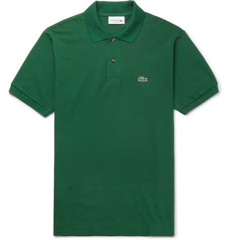 Lacoste, Cotton-Piqué Polo Shirt, 95 euros.