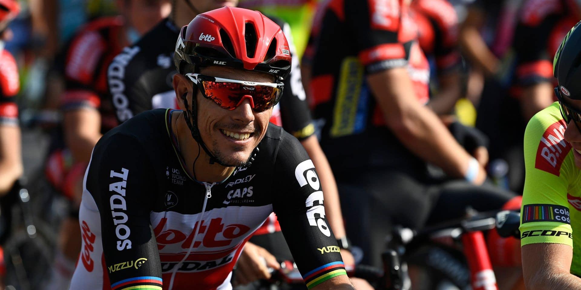 """Philippe Gilbert pas encore à 100%: """"Je souffre encore un peu du genou"""""""
