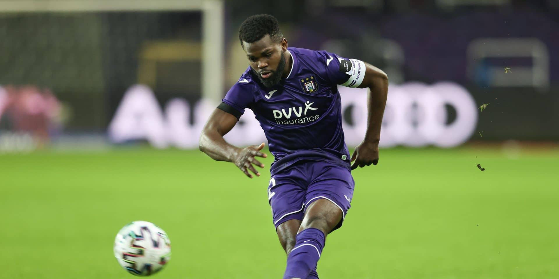 Anderlecht officialise le départ de Kemar Lawrence