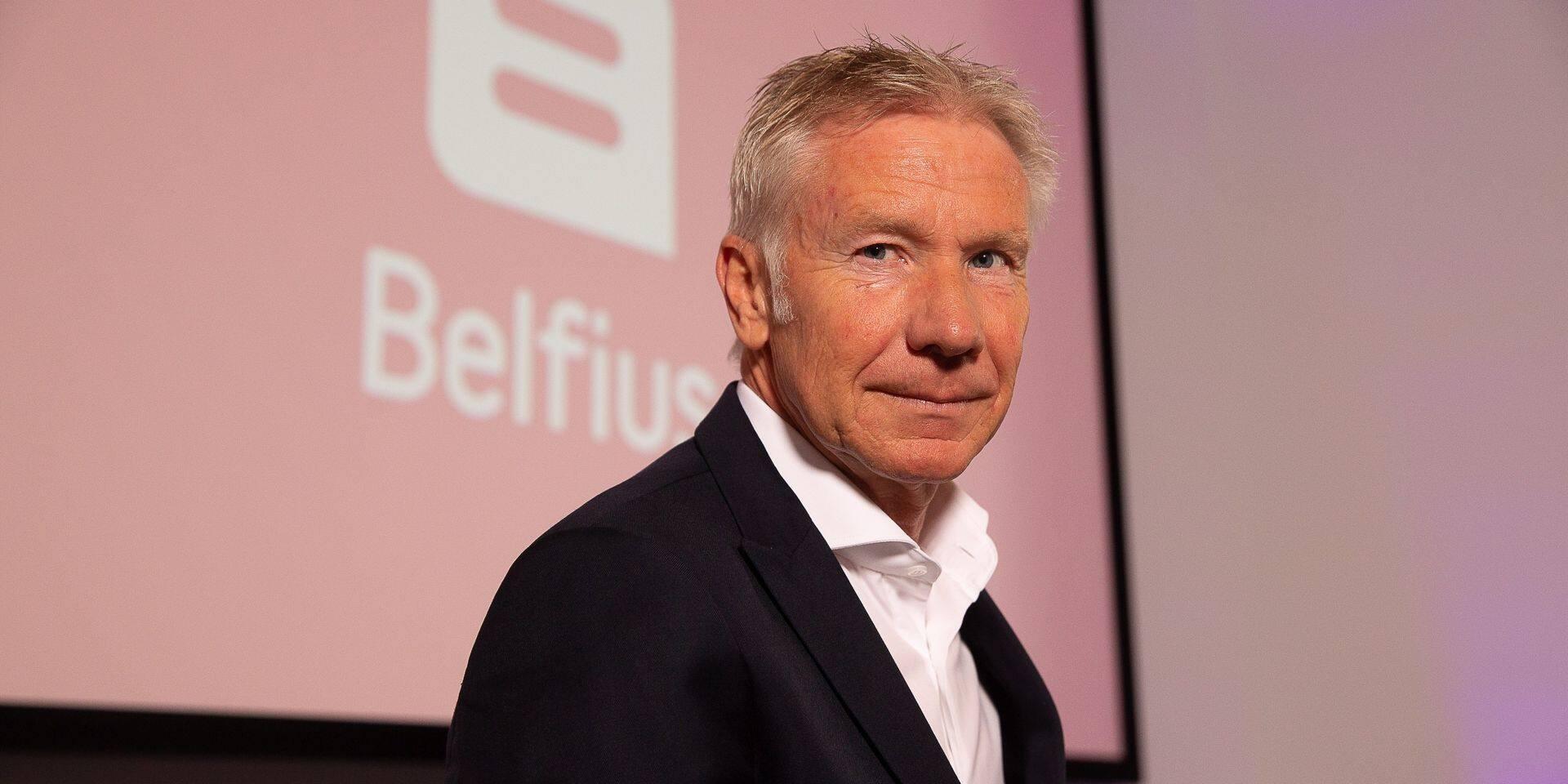 Marc Raisière, président du comité de direction (CEO) de Belfius Banque & Assurances.