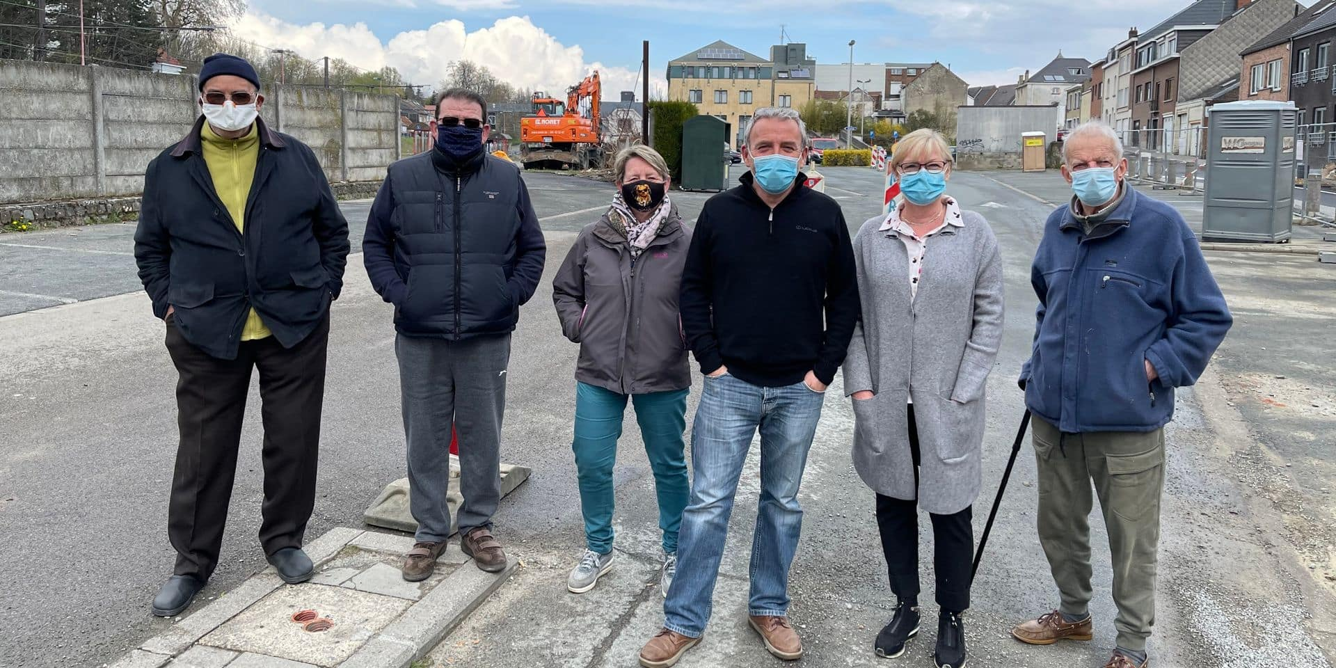 Nouvelle gare des bus de Wavre: les riverains auraient voulu un mur antibruit
