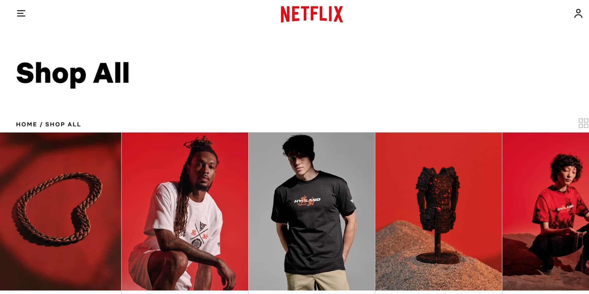 Netflix, bien plus que des séries : voici le nouveau magasin en ligne de la plateforme de streaming