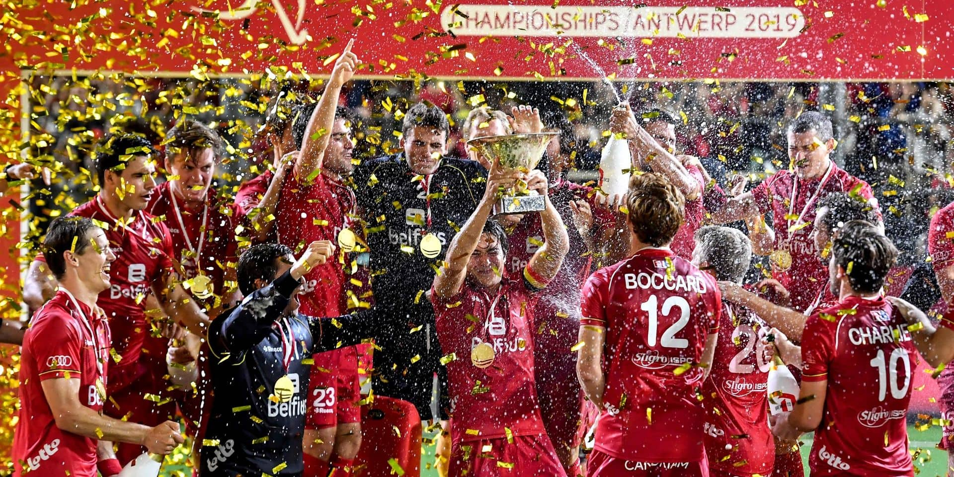 Mérite sportif: les Red Lions sacrés, 60 ans après leurs aînés