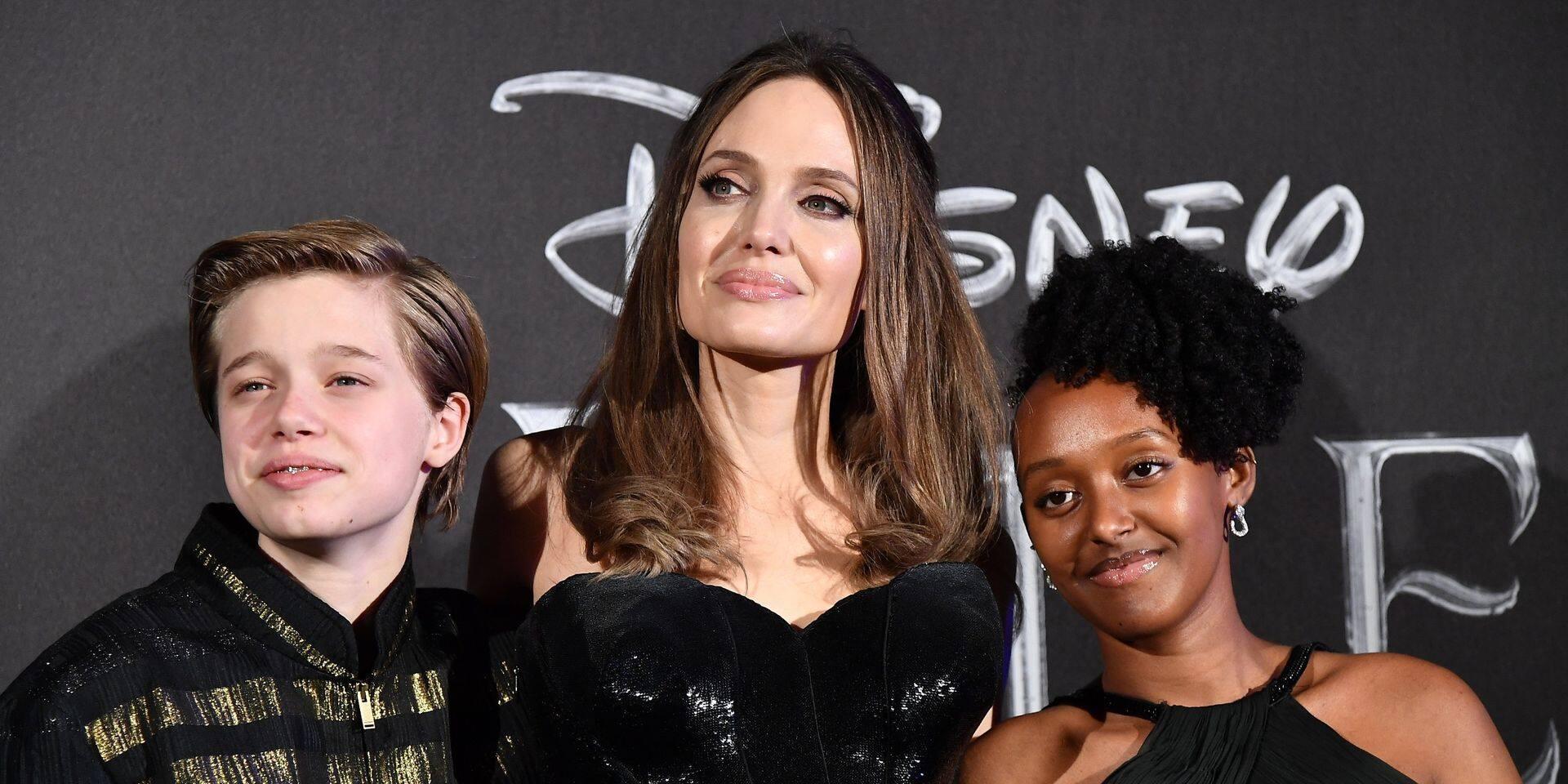 """""""Pas douée"""": Angelina Jolie fait de sincères confidences sur son rôle de mère"""