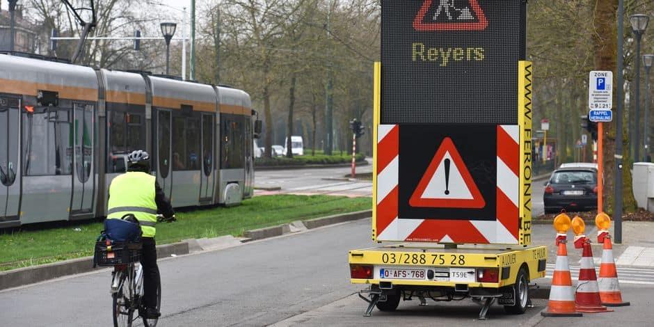 Gros embarras de circulation autour de Reyers — Mobilité