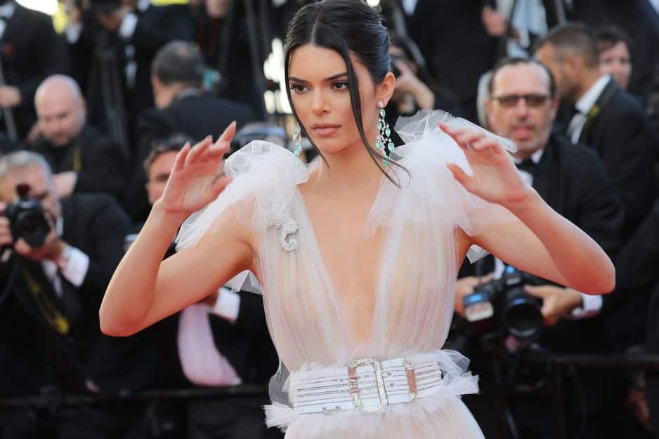 Kendall Jenner en Schiaparelli.