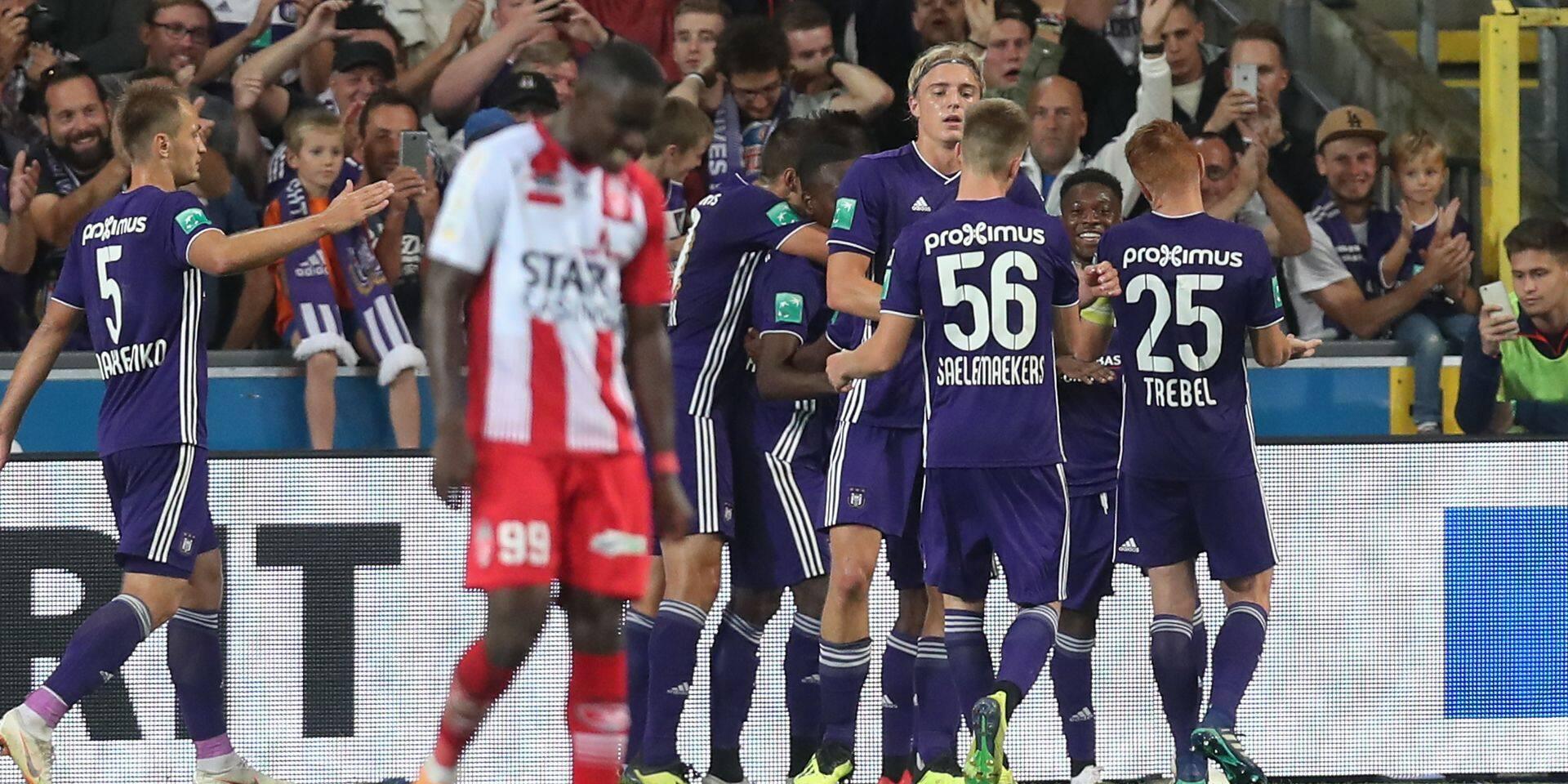 Dimata double la mise: Anderlecht - Mouscron 2-0 (DIRECT)
