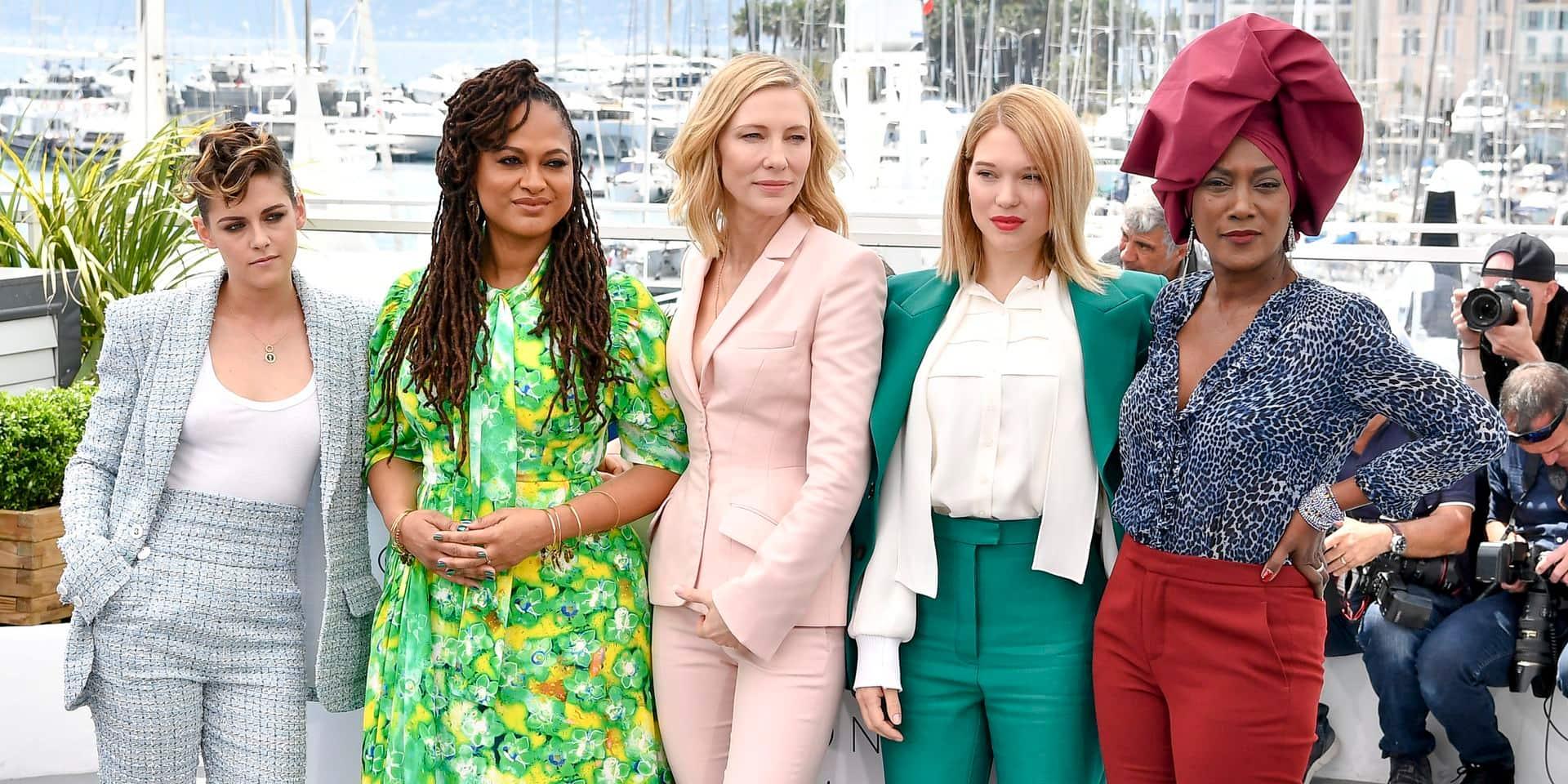 Les femmes prennent le pouvoir à Cannes avec une montée des marches inédite