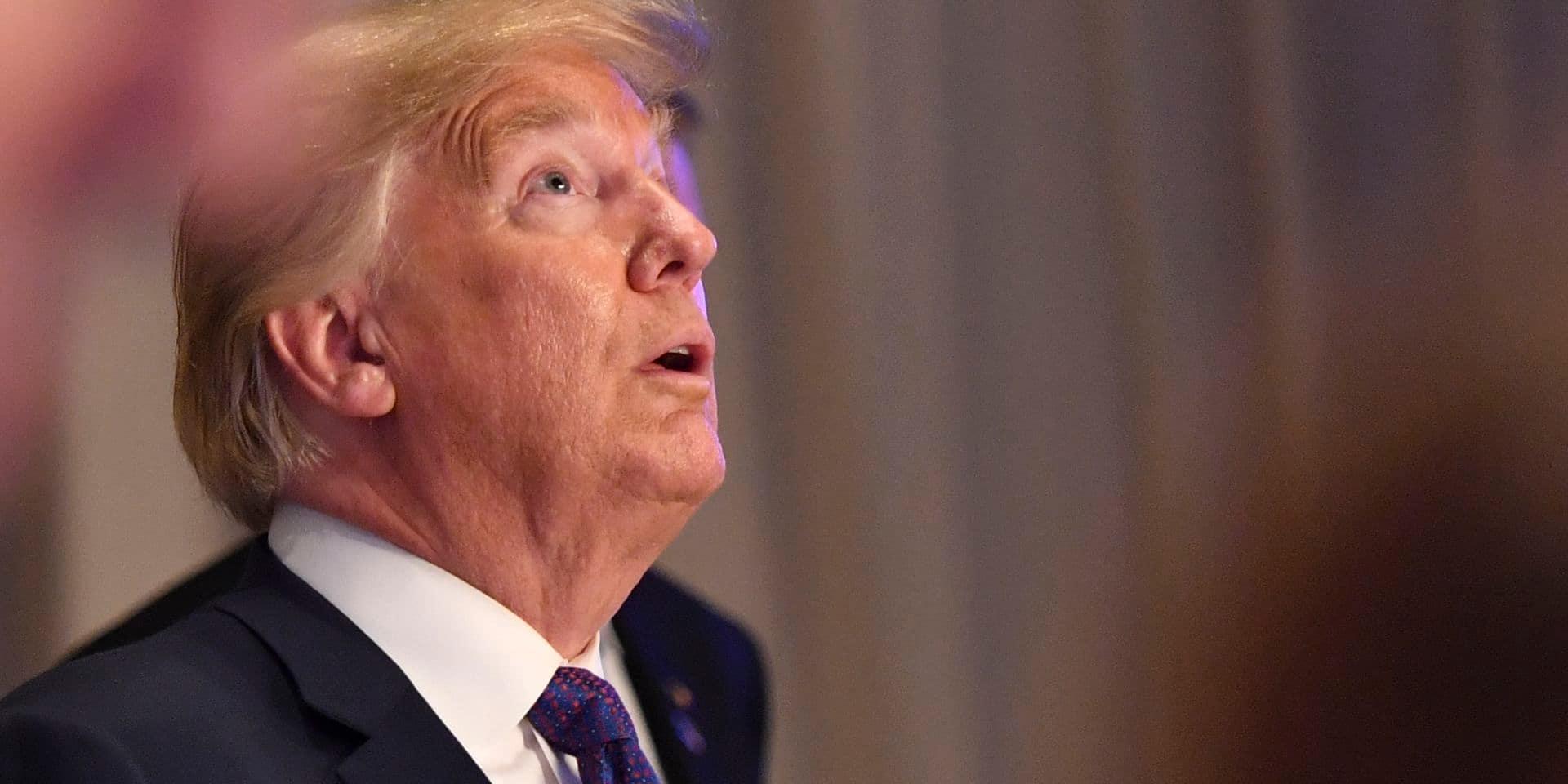 """Trump n'en a pas fini de se vanter: """"Un des vaccins contre le coronavirus aurait dû porter mon nom"""""""