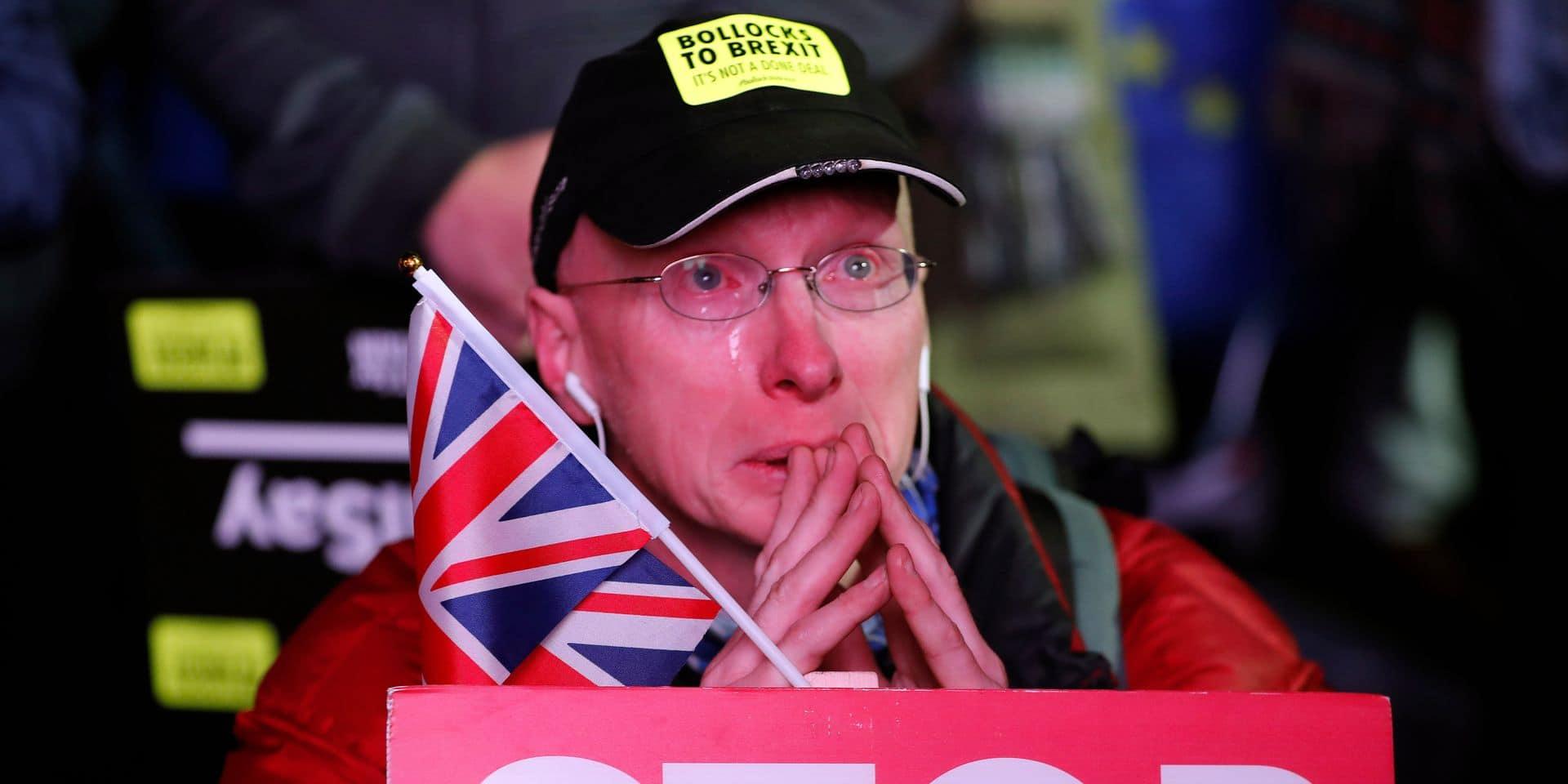 """Transport paralysé, alimentation perturbée... : quelles conséquences concrètes sur l'économie britannique en cas de Brexit """"dur"""" ?"""