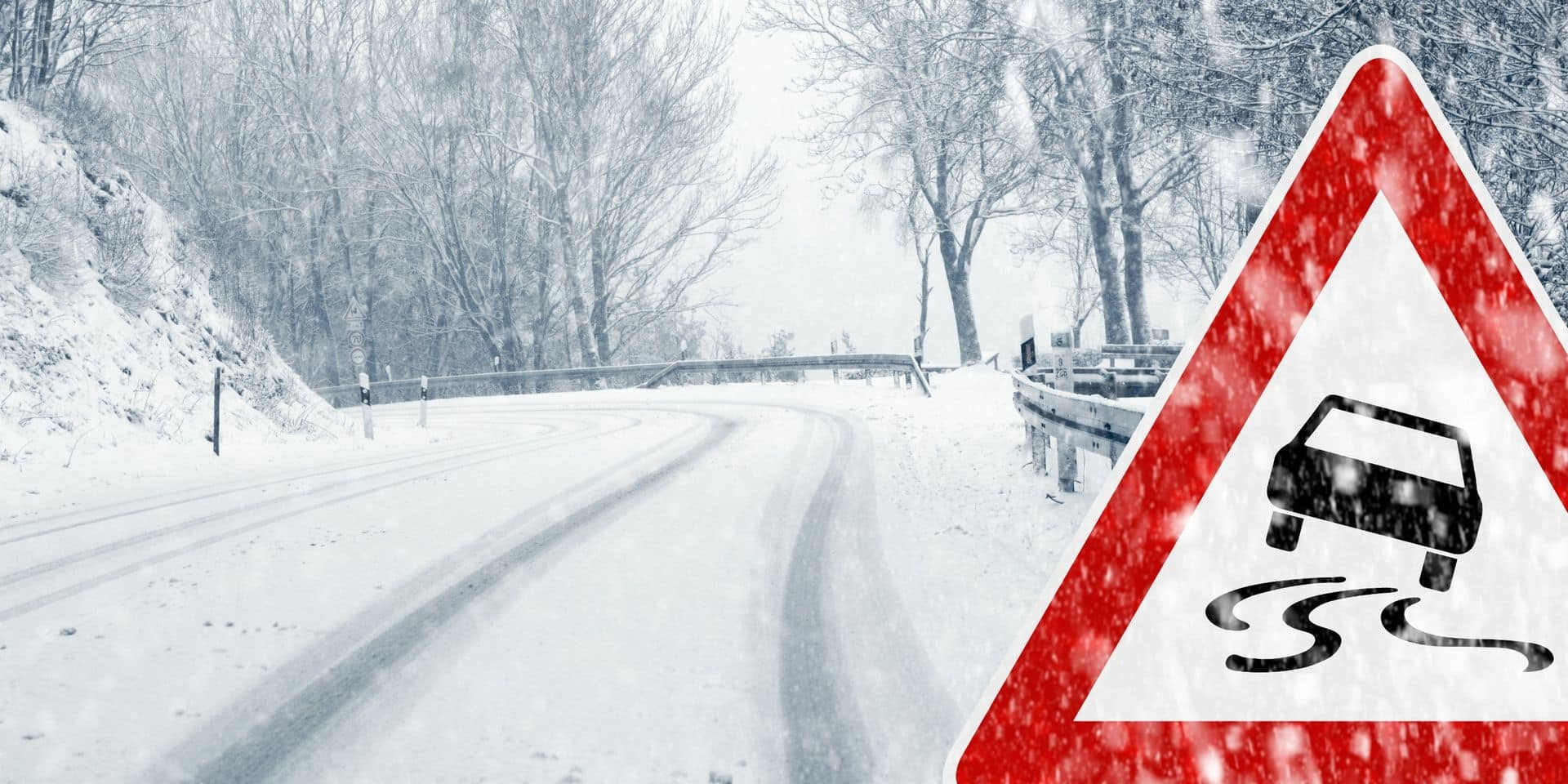 Les automobilistes appelés à la prudence en raison de conditions glissantes