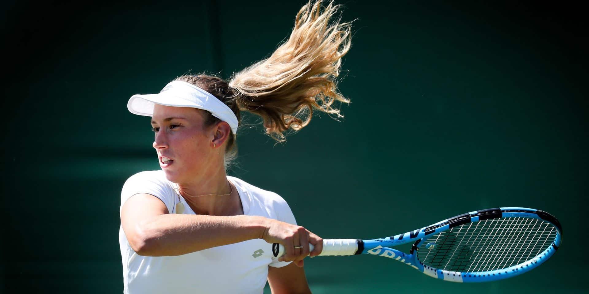 Wimbledon: Elise Mertens