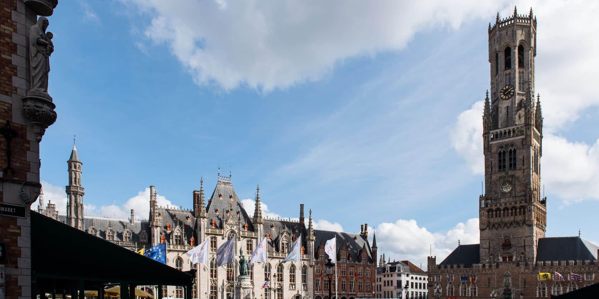 Nouvel An 2020: Bruges abandonne le traditionnel feu d'artifice pour un spectacle de drones