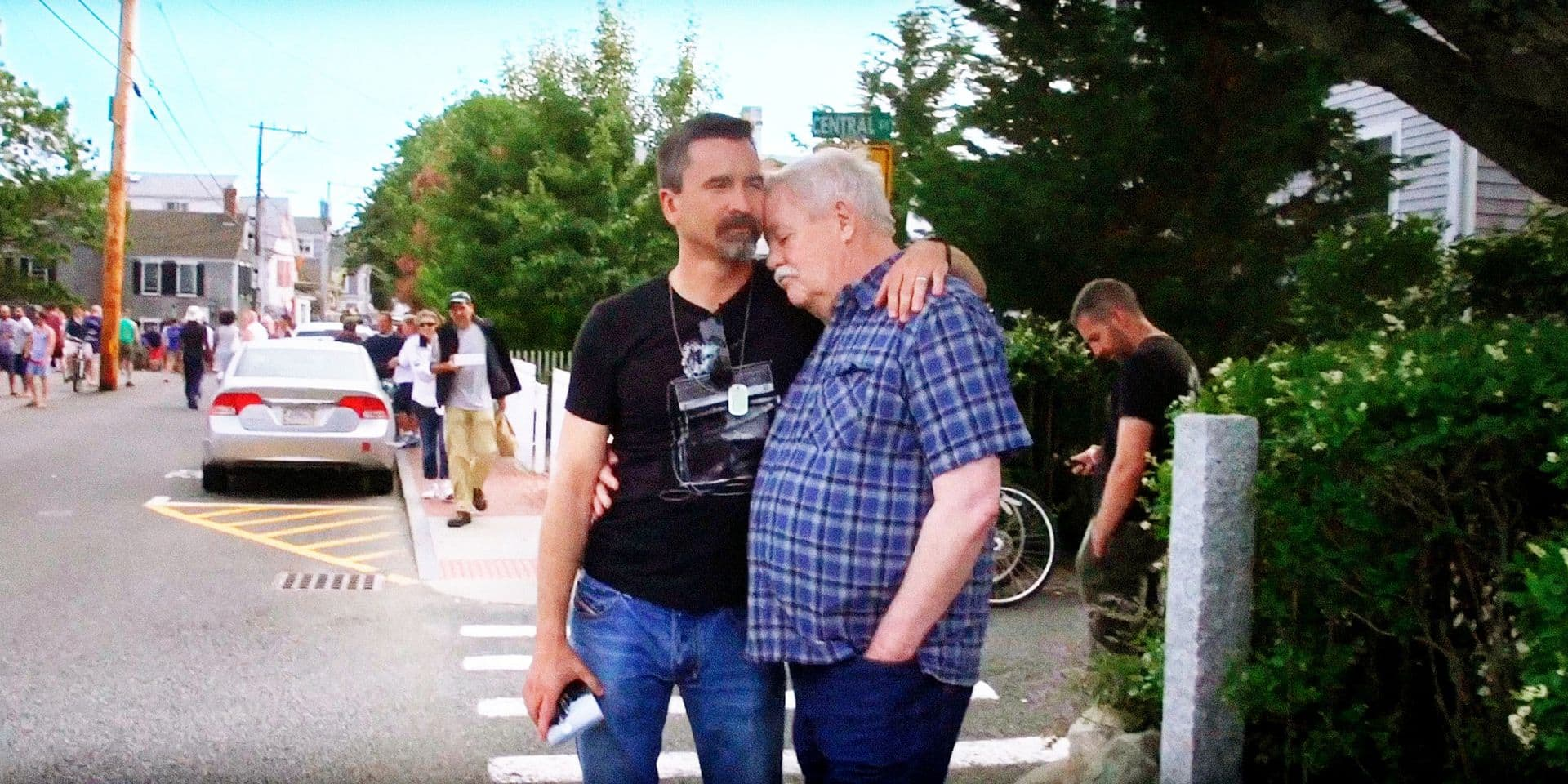 THE UNTOLD TALES OF ARMISTEAD MAUPIN, Armistead Maupin, right, and his husband, Christopher Turner , 2017. ©The Film Collaborative/courtesy Everett Collection Reporters / Everett