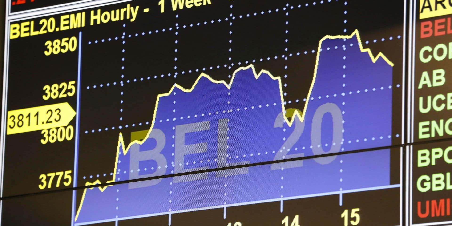 Les Bourses européennes clôturent en légère baisse, le BEL 20 se distingue avec une hausse de 0,53 %