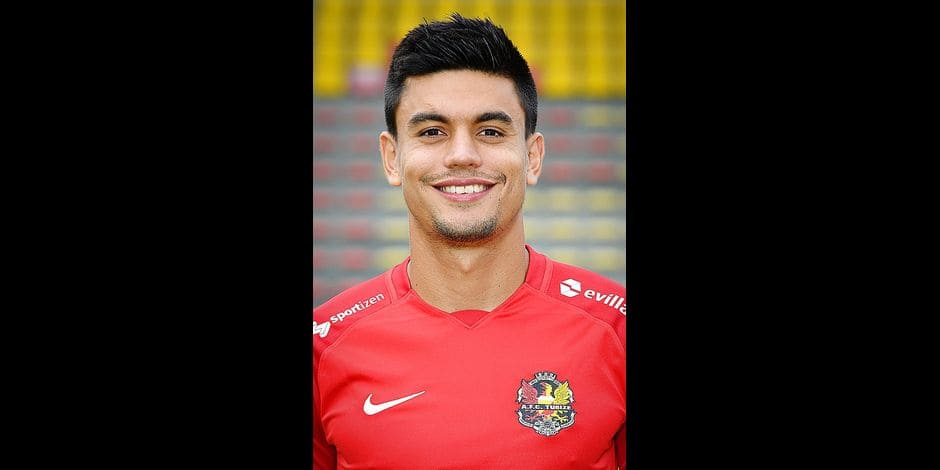 Tubize's Pedro Henrique Bueno pictured during the 2018-2019 season photo shoot of Belgian 1B Proximus league soccer team AFC Tubize, Wednesday 08 August 2018 in Tibize. BELGA PHOTO DAVID STOCKMAN