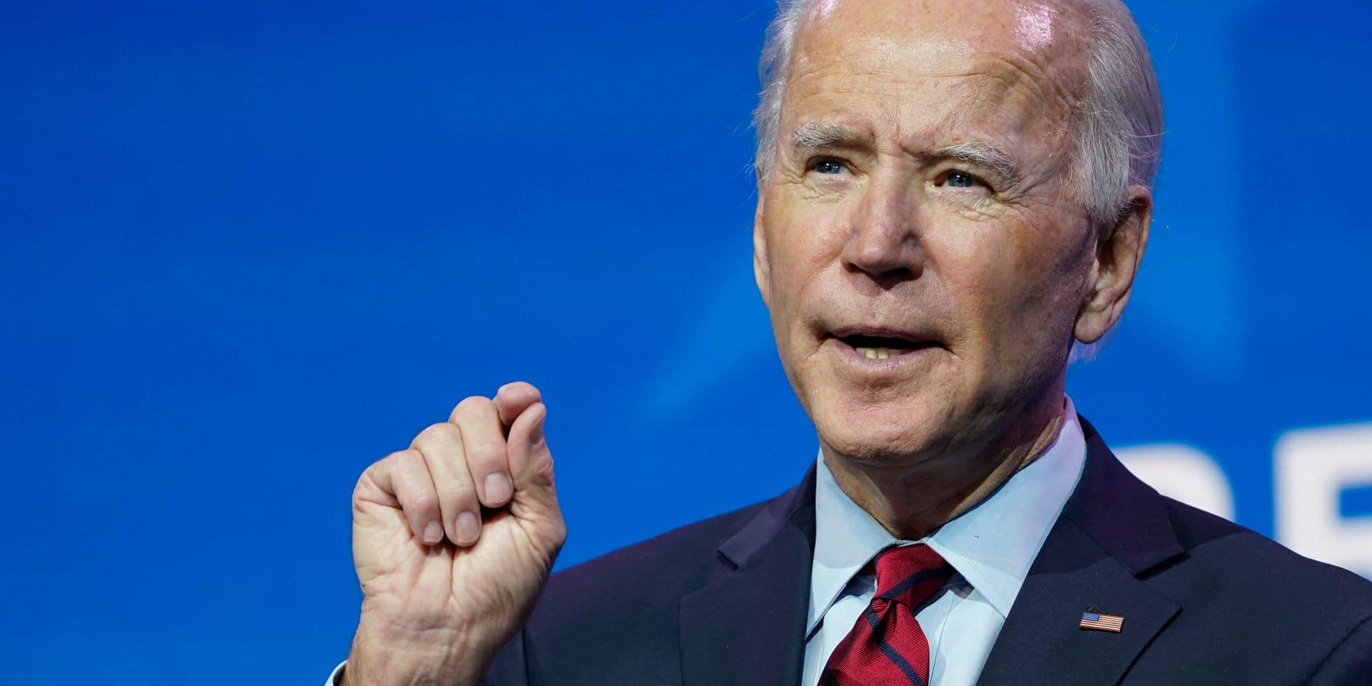 Biden choisit plusieurs ministres dans un influent cabinet de conseil privé et crée la controverse