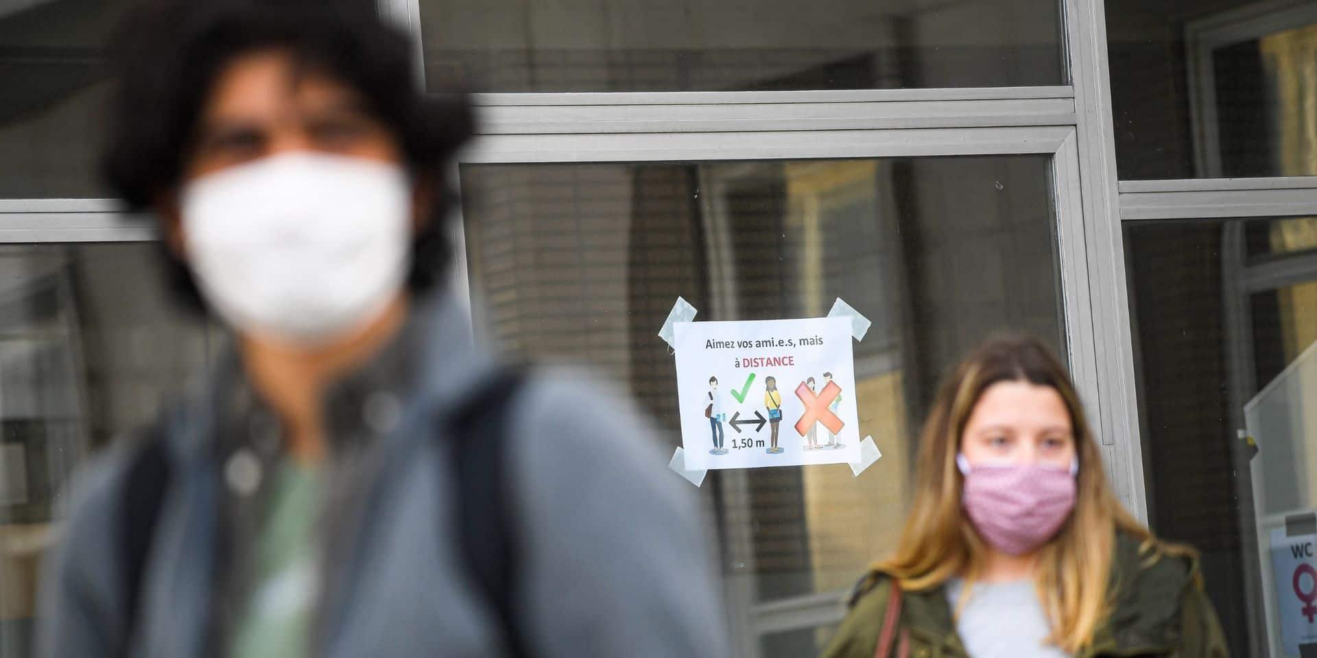 Le port du masque devient obligatoire aux abords des écoles montoises