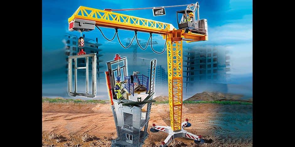 Concours: remportez les boites de jeux Playmobil spéciales construction