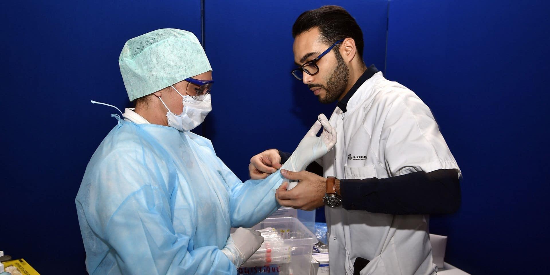 """Le CHU Marie Curie réserve un service de 30 lits pour le Coronavirus: """"pas de panique, on ne fait que prévoir le coup si nécessaire"""""""