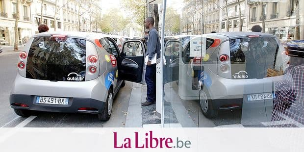 An Autolib official test the Bluecar on October 2, 2011 in Paris, at the first day of a test session of the Autolib electric car pick-up service. This test is extended to Paris metropolitan area with 60 cars to become a service to the public with an offer of 250 cars next December 5, 2011 and 2,000 at the end of June 2012. This service, inspired of the successful Velib (bicycles self-service) is a first world event, at this scale. AFP PHOTO THOMAS SAMSON