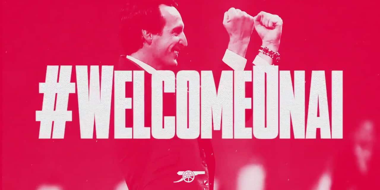 Officiel: Unai Emery est l'entraîneur d'Arsenal