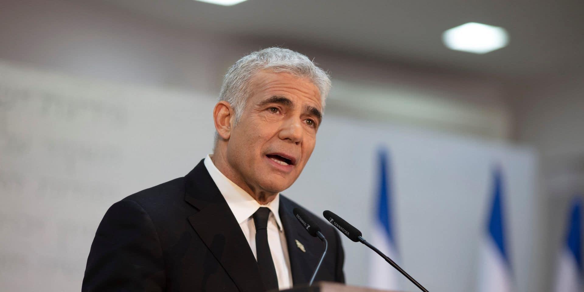 Yair Lapid, le président du Yesh Atid, parti centriste israélien.