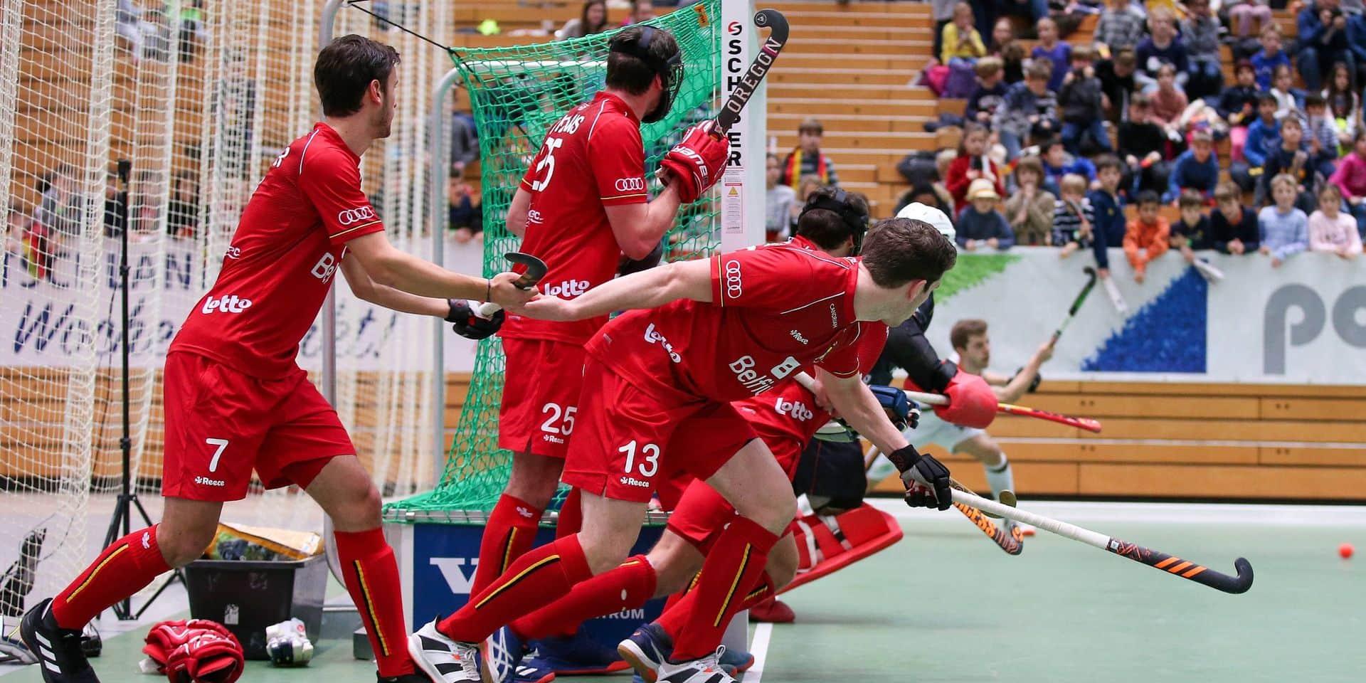 La Belgique assure son maintien et peut encore se qualifier pour la coupe du monde Indoor 2021