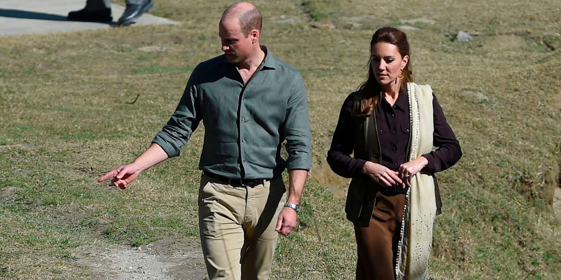 Un incident vient perturber le voyage de Kate et William au Pakistan